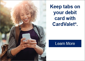 Keep tabs on you debit card with CardValet