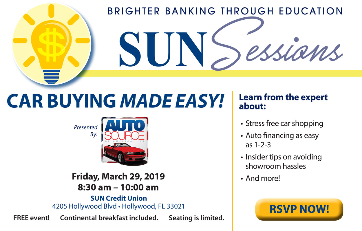 Sun Sessions Carbuying Made Easy